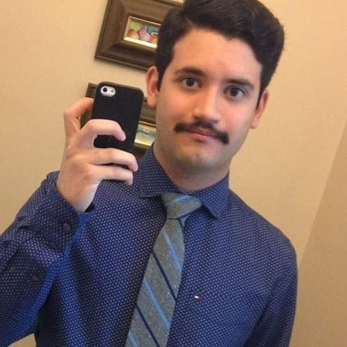 Ze zeggen wel eens dat ik op Borat lijk